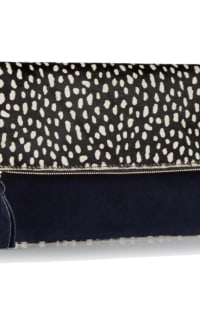 Clare V. hair calf fold over clutch 10 Preview Images