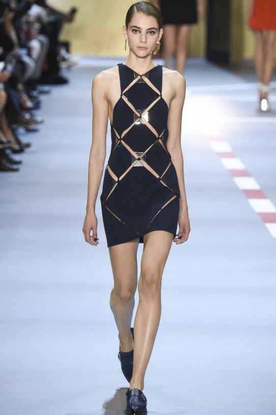Thierry Mugler Panel Mini Dress 5 Preview Images