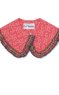 La Veste Tartan Bloom Collar  3 Preview Images