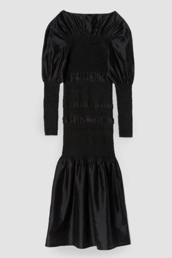 Toteme Black Coripe Dress 5