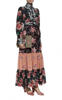 Gucci Printed long Sleeve dress 2 Preview Images