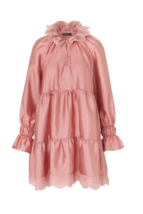 Stine Goya Pink Mini Dress 2