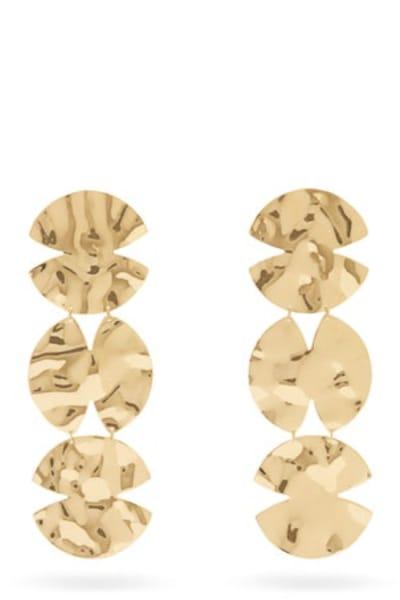 ANISSA KERMICHE Trio Architect Earrings