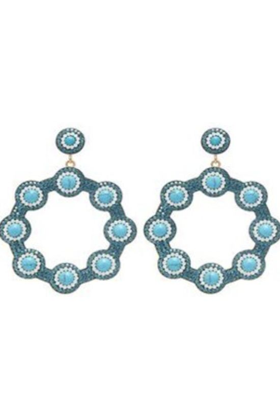 Soru Blue Earring Preview Images