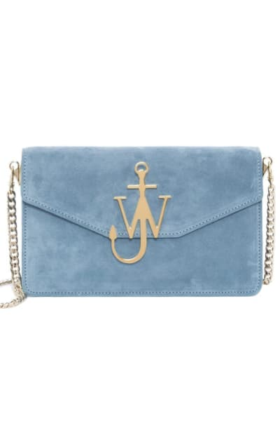JW Anderson Bluebird Logo Purse With Chain
