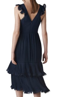 Whistles Florella Pleated Dress 2 Preview Images