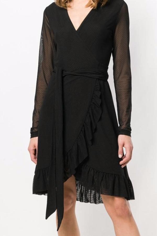 Image 2 of Ganni addison dress