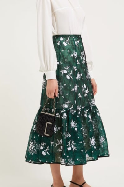 Erdem Claudina high-rise floral lace 2