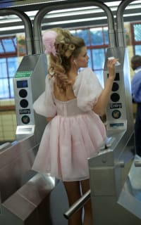 Selkie Pink Puff Mini Dress 6 Preview Images