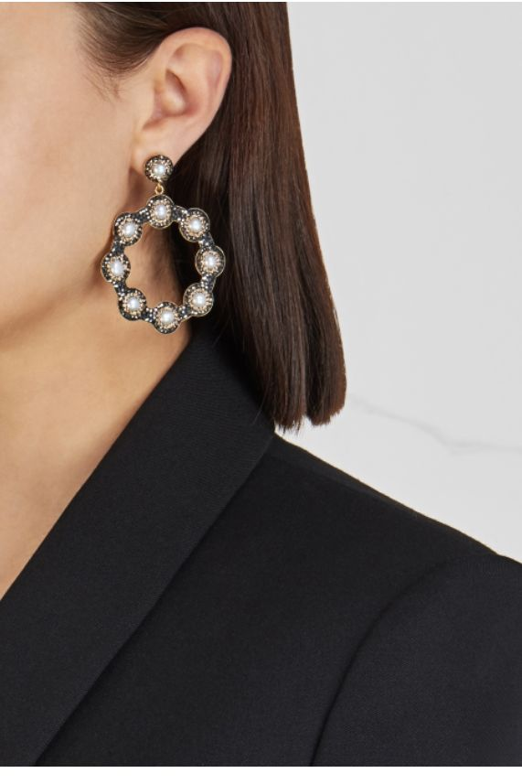 Soru London Baroque Pearl Earrings Preview Images