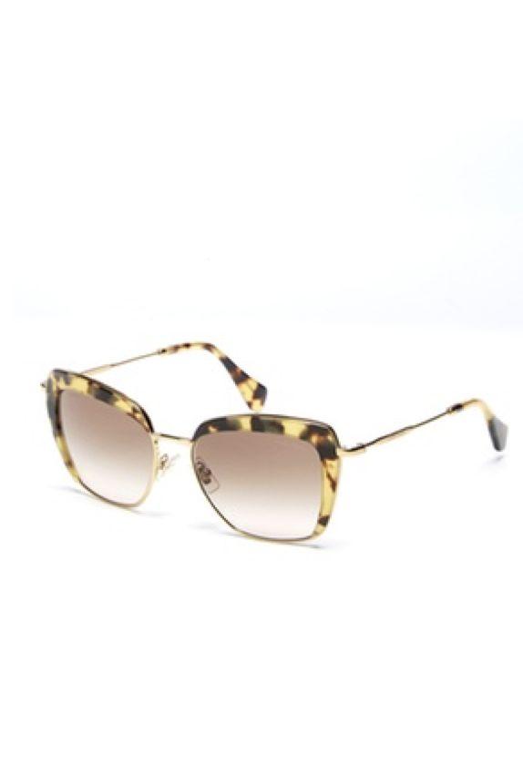 Miu Miu Mock Half-Rim 53MM Square Sunglasses Preview Images