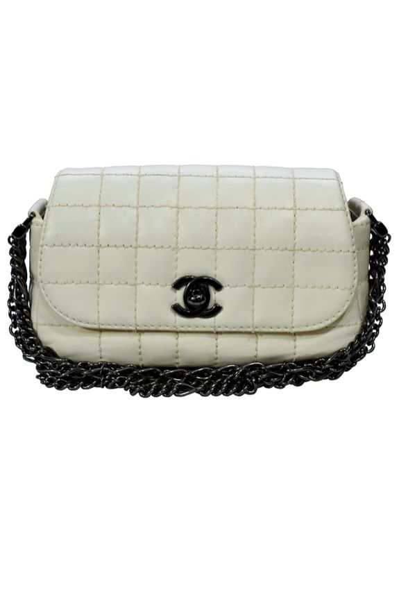 Chanel Ivory Mini Handbag 2 Preview Images