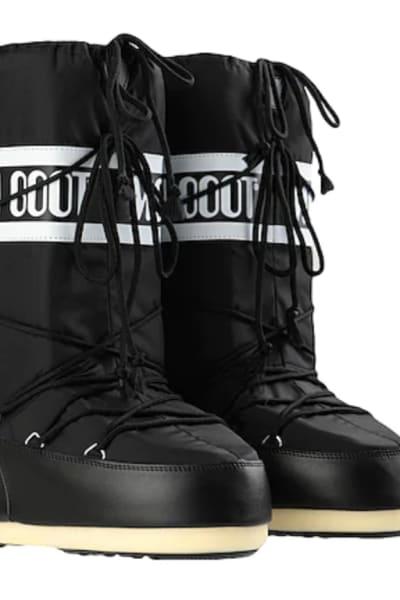 Moon Boot Black snow boots 2