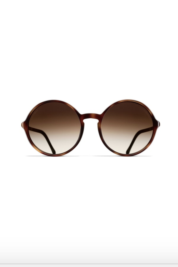 Image 1 of Chanel round tortoise sunglasses