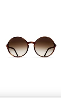 Chanel Round Tortoise Sunglasses Preview Images