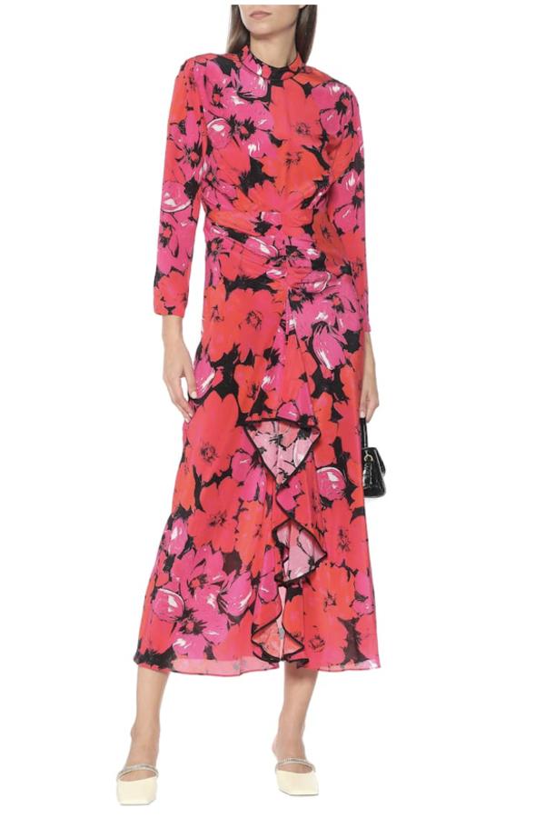 RIXO Dani Floral Dress 3