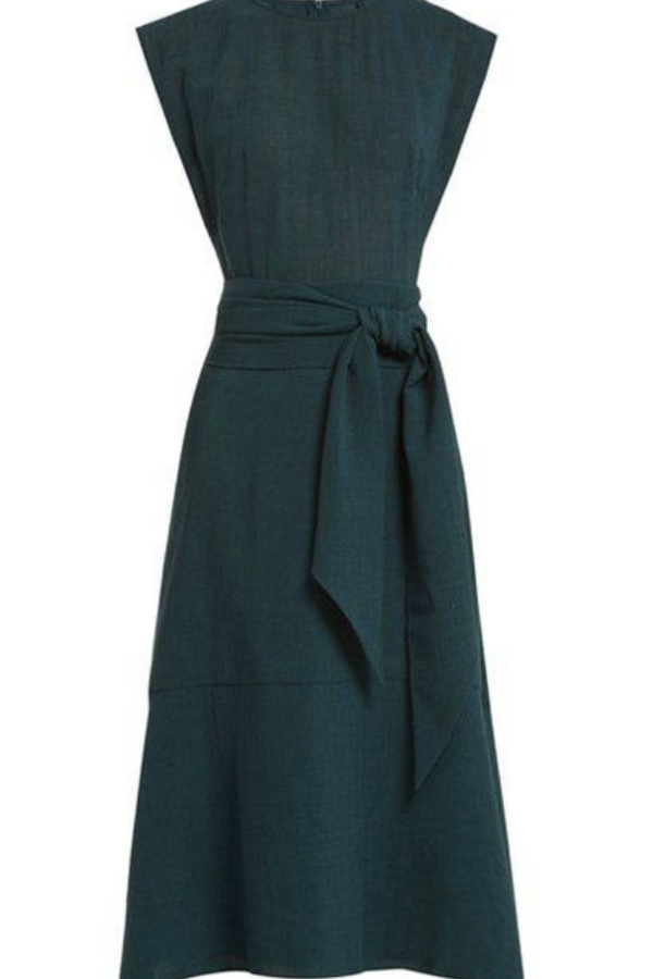Cefinn Freya Midi Dress - Teal 2