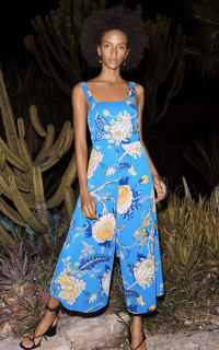 Whistles Exotic Floral Jumpsuit Preview Images