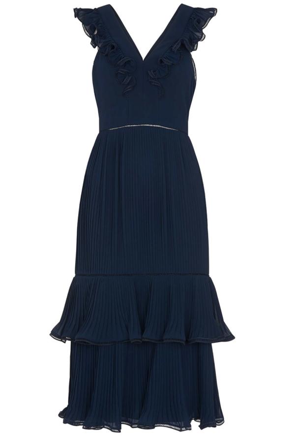 Whistles Florella Pleated Dress