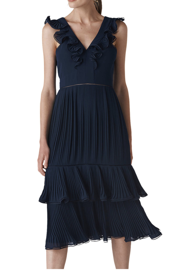 Whistles Florella Pleated Dress 3