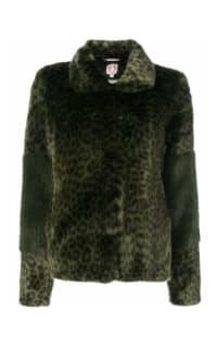 Shrimps Alpin leopard faux fur coat Preview Images
