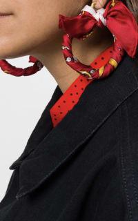 Balenciaga Ribbon Earring 2 Preview Images