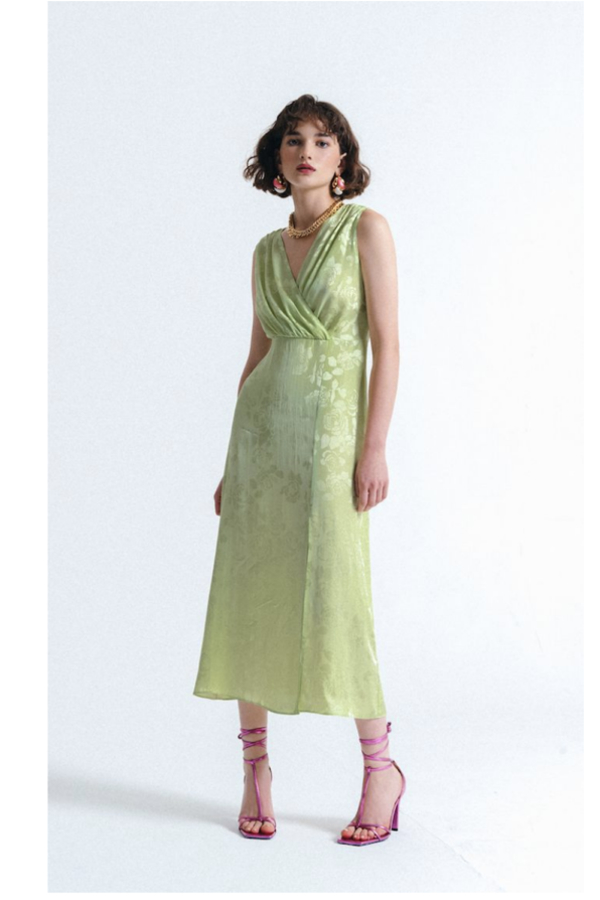 Art Dealer Amber Dress 2