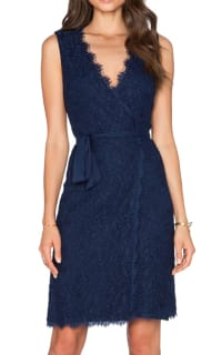 Diane Von Furstenberg Julianna Two Lace Wrap Dress Preview Images