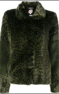 Shrimps Alpin leopard faux fur coat 5 Preview Images
