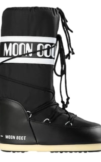 Moon Boot Black snow boots Preview Images