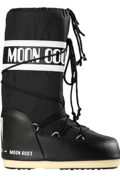 Moon Boot Black snow boots