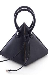 Nita Suri Pyramid Shaped Mini Bag Preview Images