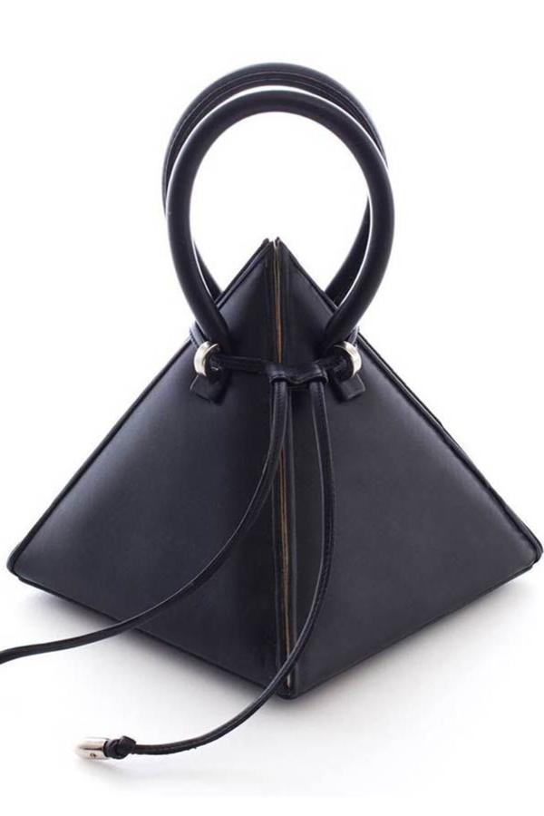 Nita Suri Pyramid Shaped Mini Bag