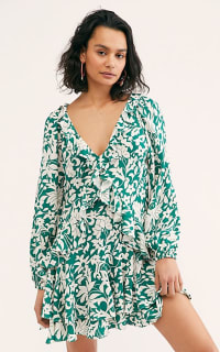 Free People Rebbecca ruffle dress Preview Images