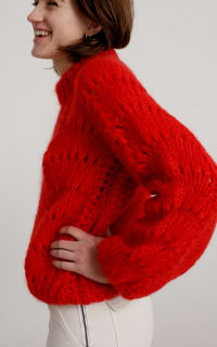 Ganni Julliard Mohair knit jumper 2 Preview Images