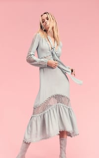 For Love and Lemons Lilou Midi Dress 5 Preview Images