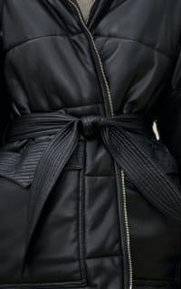 Nanushka Lennox puffer jacket 4 Preview Images