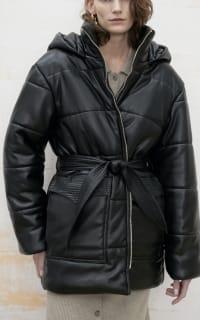 Nanushka Lennox puffer jacket 2 Preview Images