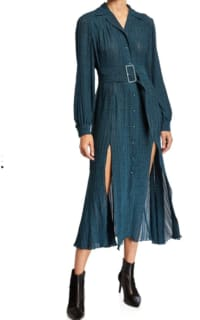 Rotate Pleated Midi Dress 2 Preview Images