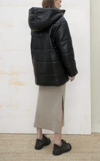 Nanushka Lennox puffer jacket 3 Preview Images