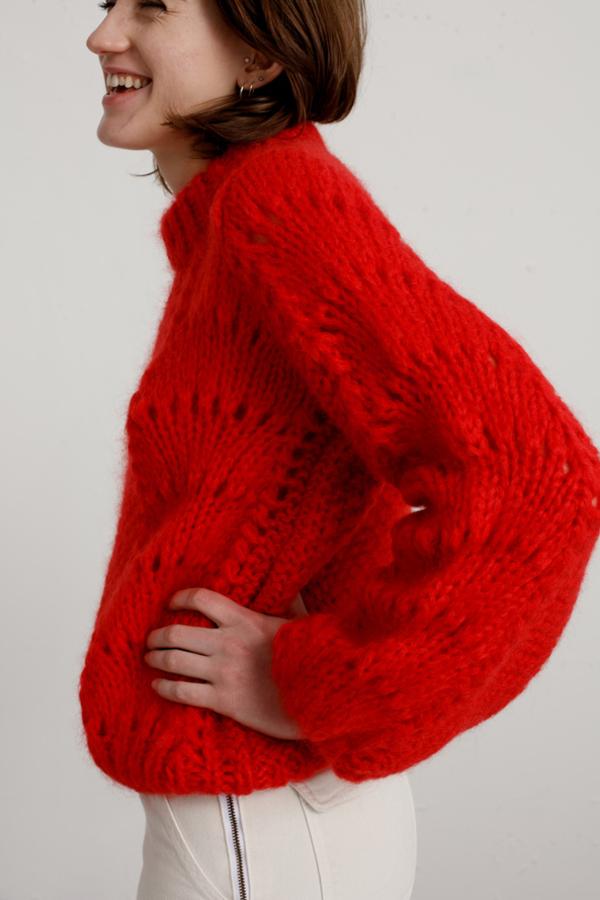 Ganni Julliard Mohair knit jumper 2