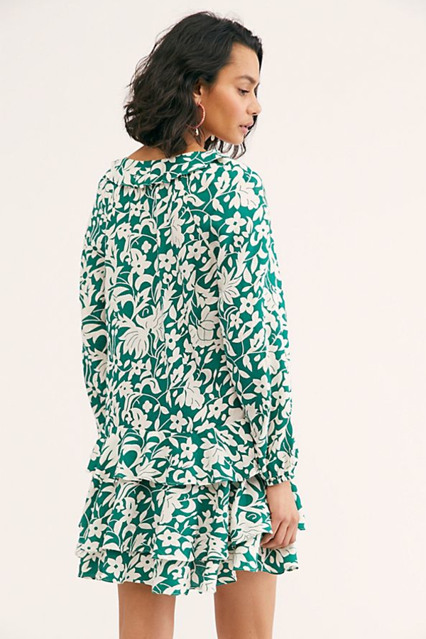 Free People Rebbecca ruffle dress 2