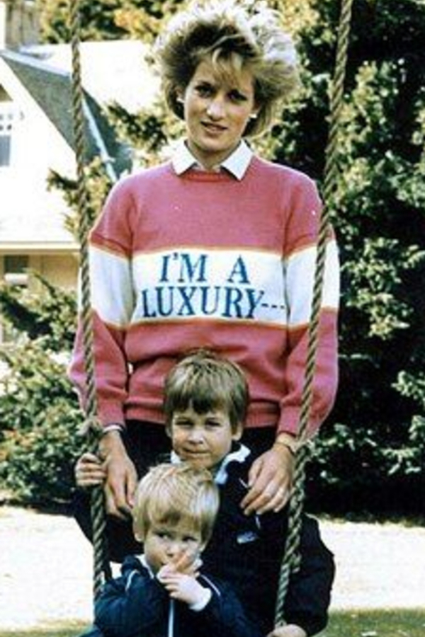 """Rowing Blazers """"I'M A LUXURY"""" Iconic Diana Jumper 4"""