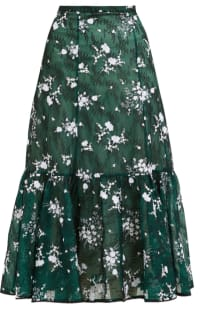 Erdem Claudina high-rise floral lace Preview Images