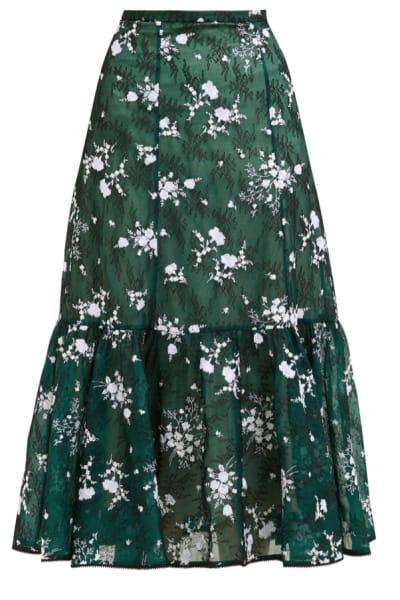 Erdem Claudina high-rise floral lace