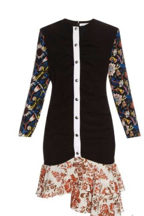 JW Anderson Floral Ruffle Dress 4