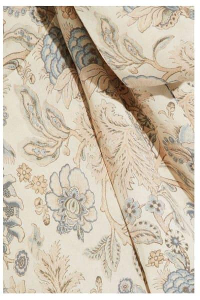 Zimmermann Asymmetric ruffled floral-print silk wrap midi dress 3