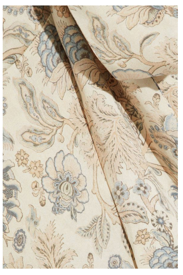 Zimmermann Asymmetric silk wrap dress 3