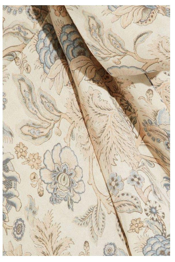 Zimmermann Asymmetric ruffled floral-print silk wrap midi dress 3 Preview Images