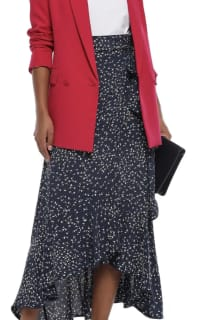 Ganni Barra floral-print crepe skirt 3 Preview Images